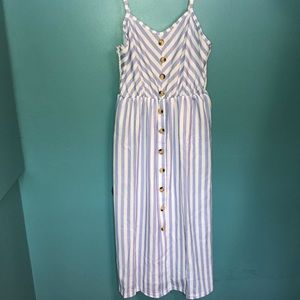 Dresses & Skirts - Blue and white striped dress